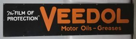 Veedol Motor Oils-greases Sign