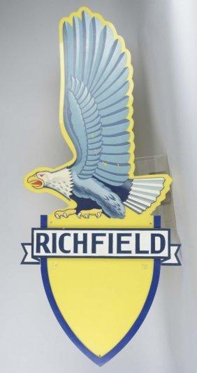 Richfield Plastic Eagle Sign