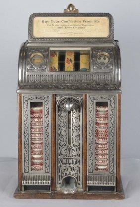 5¢ Caille Victory Mint Vender Slot Machine