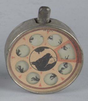 Horse Race Themed Metal Pocketwatch Game