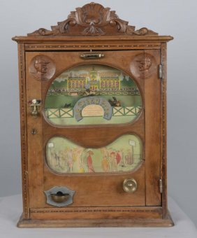 Le Grand Prix French Horse Race Token Pay Machine