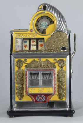 5¢ Watling Rol-a-top Slot Machine