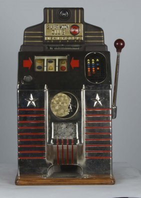 10¢ Jennings Silver Moon Club Slot Machine