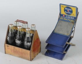 Lot Of 2: Soda Advertising Display Items