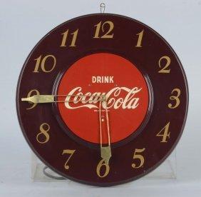 Drink Coca Cola Round Wall Clock