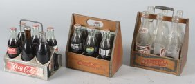 Lot Of 3: Soda Six Pack Carriers