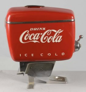 Drink Coca Cola Boat Motor Shaped Dispenser