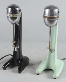 Lot Of 2: Hamilton Electric Milkshake Mixers