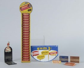 Lot Of 4: Assorted Gum Advertising Pieces