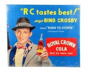 1950's Bing Crosby Cardboard Poster.