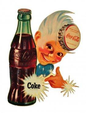 Sprite Boy Masonite Coca - Cola Cutout.