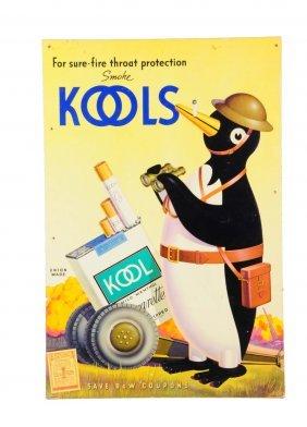 1940's - 50's Kool Cigarettes Poster.