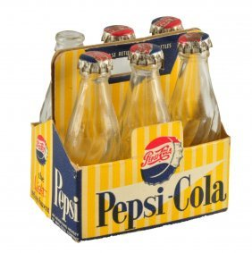 1950's Pepsi - Cola Miniature Six Pack.
