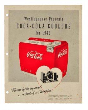 1946 Coca - Cola Coolers Brochure.