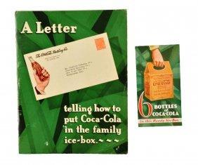 1928 Coca - Cola Bottlers Information Book.