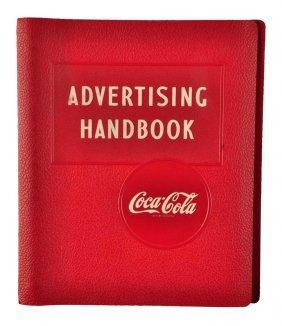Beautiful 1940's Coca - Cola Advertising Handbook.