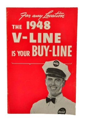 1948 Coca - Cola Vendo Booklet.