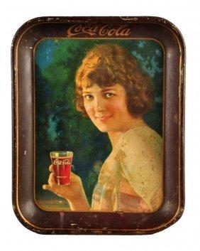 1924 Coca - Cola Serving Tray.