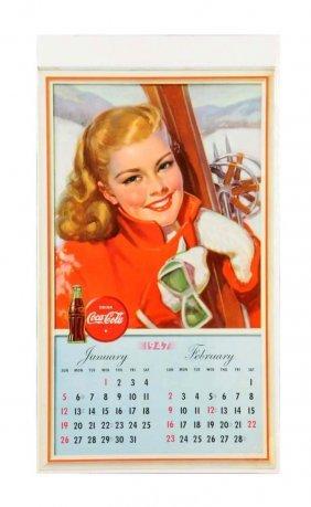 1947 Coca - Cola Calendar.