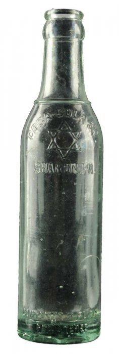 Sharon Pennsylvania Coca Cola 7oz Bottle.