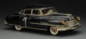 Japanese Tin Litho Friction Maursan 1951 Cadillac.