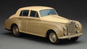 Japanese Tin Litho Friction Rolls Royce Toy Car.