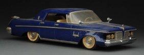Rare Japanese Friction Tin 1962 Chrysler Imperial.