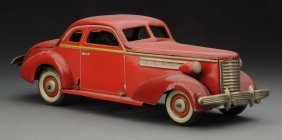 Scarce Japanese Pre War Tin Wind Up Buick Coupe.