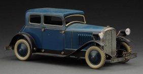 English Tin Litho Wind-up You Build It Car.