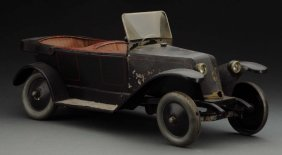 French Tin Wind-up Jep Renault Phaeton.