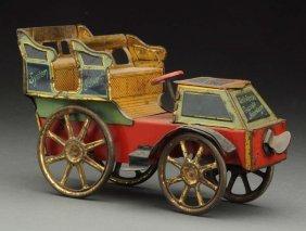 German Tin Litho Stoilwerck Chocolate Motor Wagon.