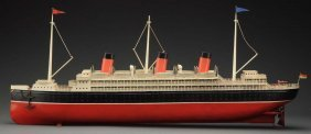 Large Early Bing Ocean Liner.
