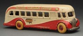 """national Trailways"" Bus"