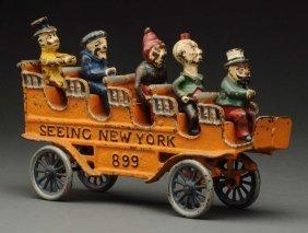 """Kenton """"seeing New York"""" Bus."""