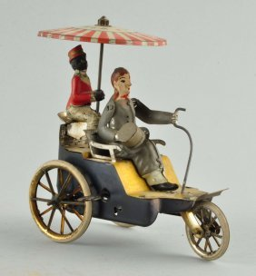 German Lehmann Tin Litho Wind-up Onkel Onkel Toy.