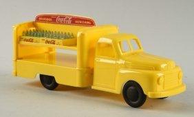 Marx Plastic Coca-cola Delivery Truck W/ No Doors