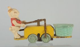 Lionel Peter-rabbit Chick-mobile Hand Car Toy.