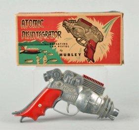 Hubley Diecast Atomic Disintegrator Gun.