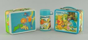 Lot Of 2: Character Lunch Boxes.