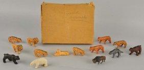 14 Piece Animal Set In Original Box.