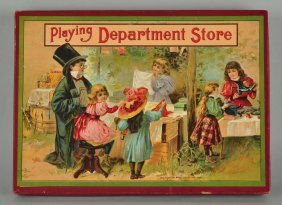 Dept Store Game In Box.