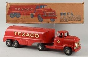 Pressed Steel Buddy L Texaco Tanker Truck.