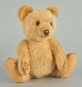 Steiff's Medium Sized Jackie Bear With Ids.
