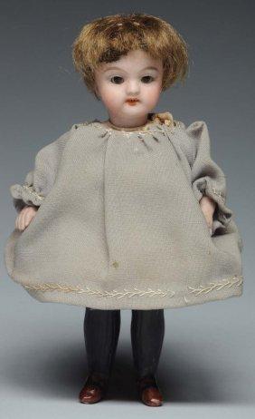 Simon & Halbig All-bisque Doll.