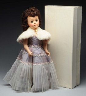 "Very Desirable 1950's 18"" Mary Hoyer Gigi Doll."