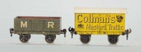Lot Of 2: Gauge 1 Bassett Lowke Freight Wagons.