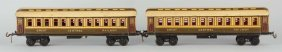 Lot Of 2: Gauge1 Bing Gr. Central Railway Coaches.