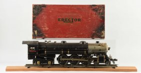 Gilbert Erector No. 8 20th Century Hudson Engine.
