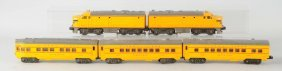 Union Pacific Lionel Anniversary Set From 1950.