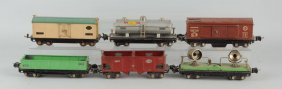 Lot Of 6: Lionel 800 & 2800 Series Freight Cars.